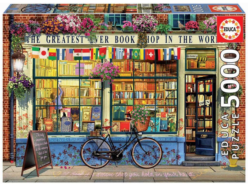Puzzle 5000 La Mejor Librería Del Mundo Educa 18583