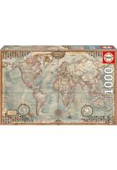 Puzzle 1000 Le Monde, Carte Politique