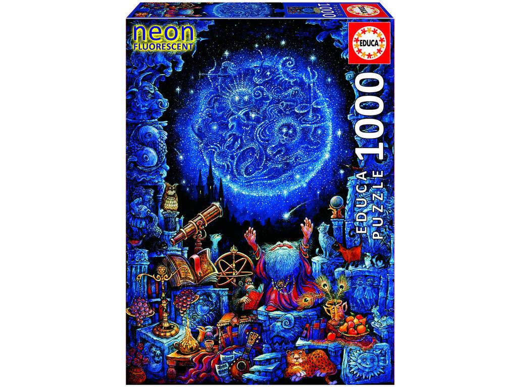 Puzzle 1000 El Astrólogo Neón Educa 18003