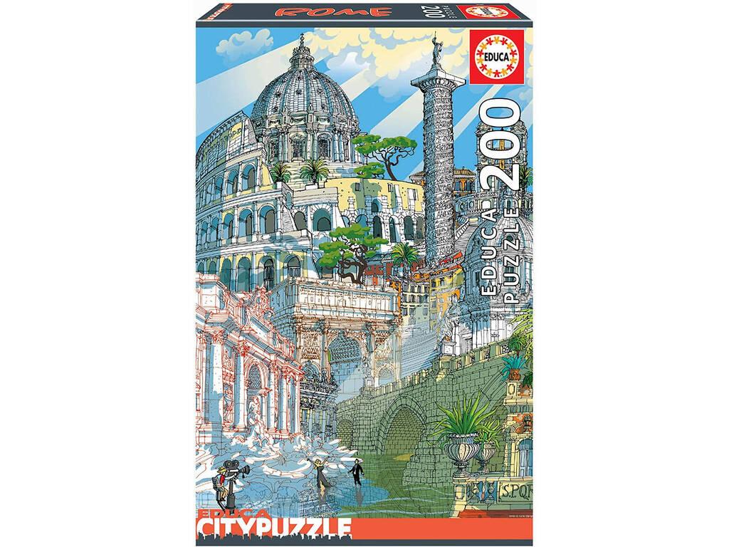 Puzzle 200 Roma Educa Citypuzzle Educa 18468