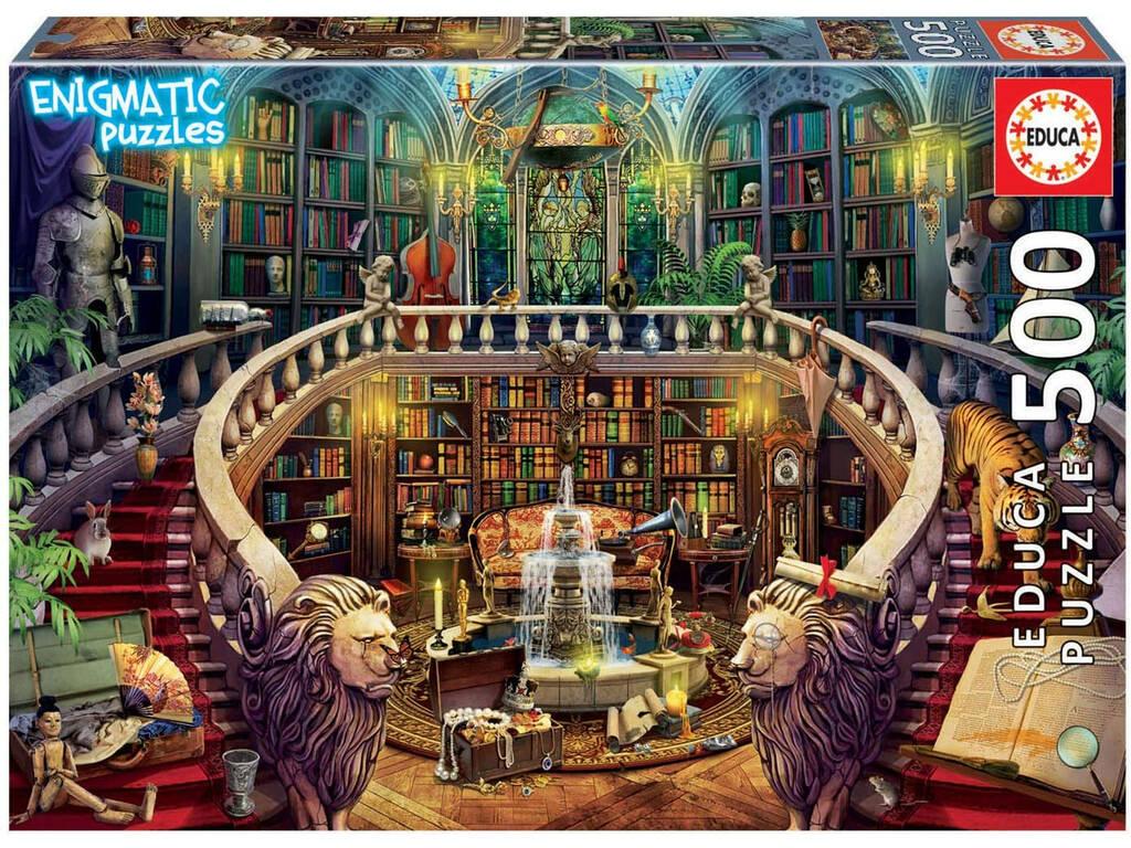 Puzzle 500 Biblioteca Enigmatic Puzzle Educa 18479