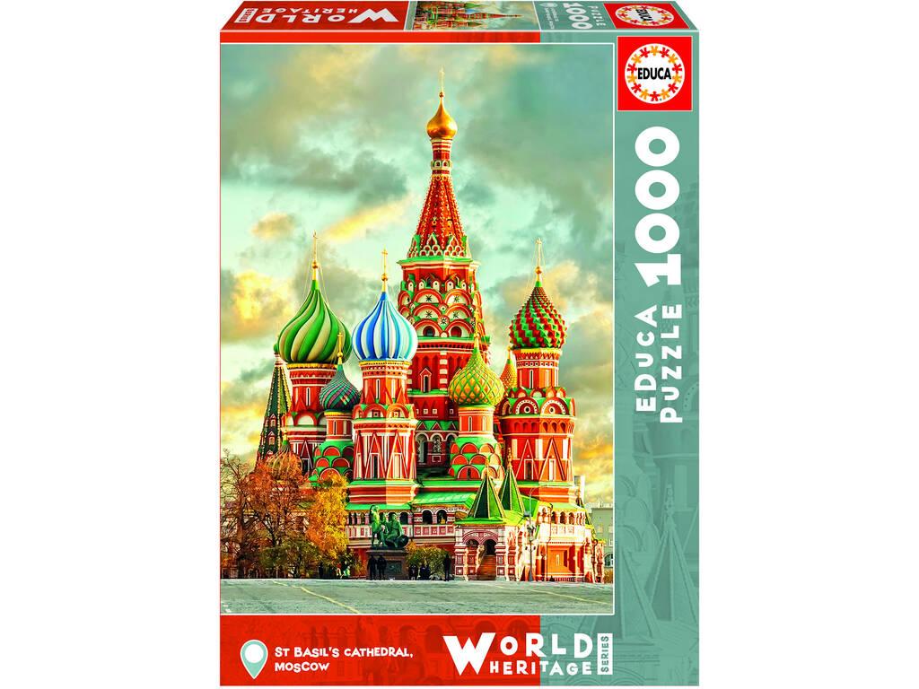 PUZZLE 1000 Catedral De San Basilio, Moscú Educa 17998