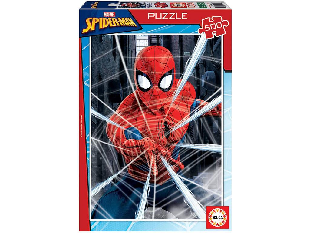 Puzzle 500 Spiderman Educa 18486