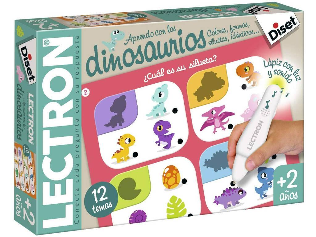 Lectron J'Apprends avec Les Dinosaures Diset 63706