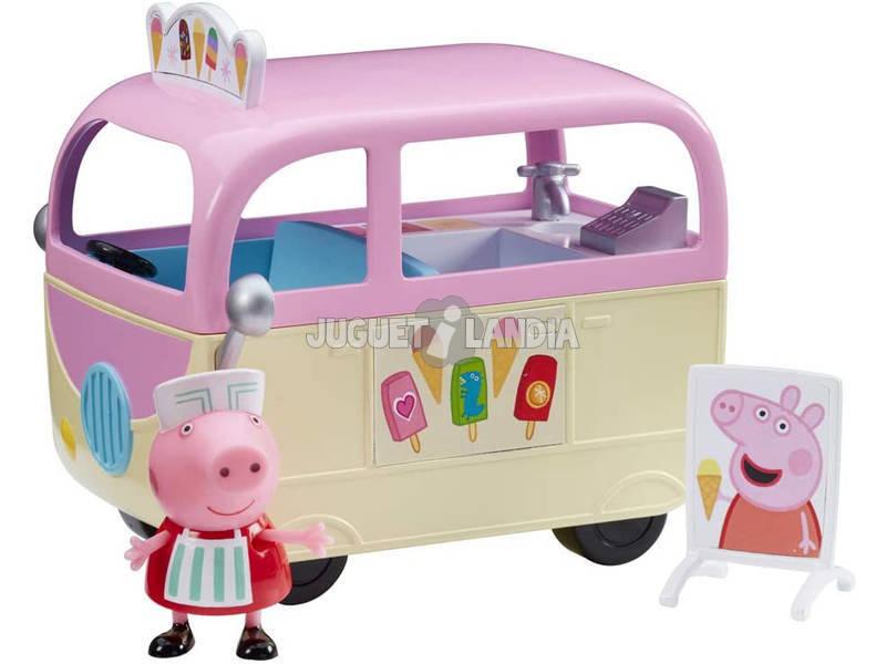Peppa Pig Caravana Heladería Bandai CO7153