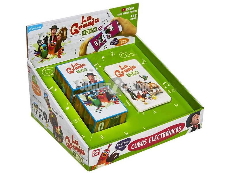 La Granja De Zenón Cubos Electrónicos Bandai TO83200