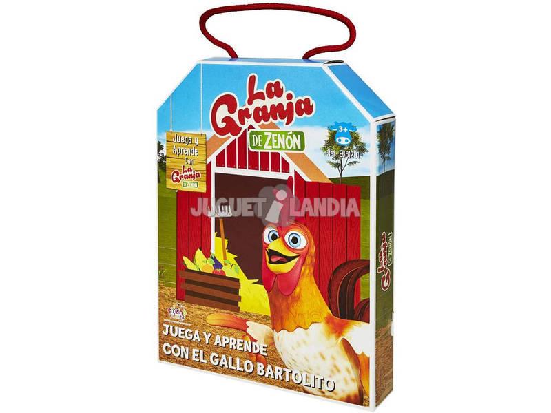 La Granja de Zenón Juega y Aprende Con El Gallo Bartolito Bandai EB81201