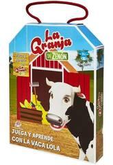 La Ferme de Zenón Jouez et ApprenezAvec La Vache Folle Bandai EB81202