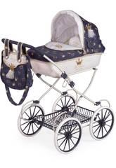 Chariot de Poupée Classic Romantic Pliant DeCuevas 81032