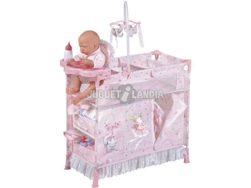 Armoire Table à Langer Pliante de Poupée María DeCuevas 53034