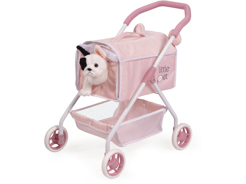 Carro de Mascotas Mi Primer Carro Little Pet Decuevas 86139