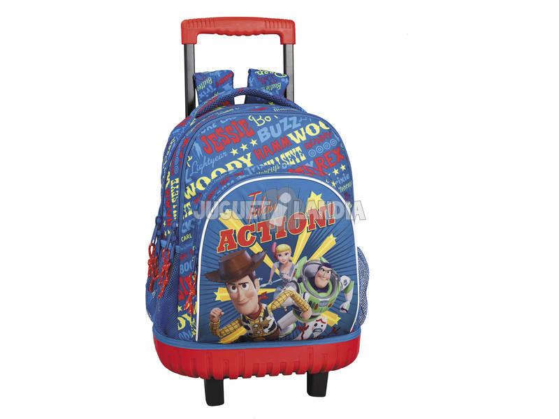 Mochila Grande con Ruedas Compact Toy Story 4 Safta 611931818