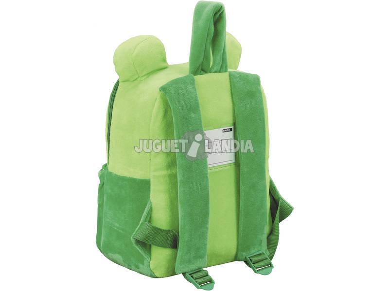 miniatura 2 - Zaino Infantile Peluche Rana Safta 641953232