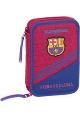 Plumier Double 34 Pièces FC Barcelone Safta 411925054