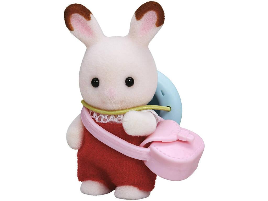 Sylvanian Families Bebé Conejo Chocolate Epoch Para Imaginar 5405