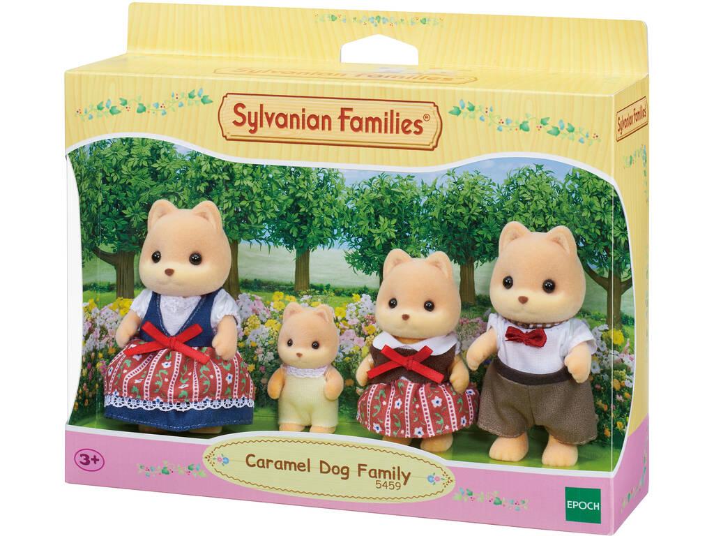 Sylvanian Families Familia Perro Caramelo Epoch Para Imaginar 5459