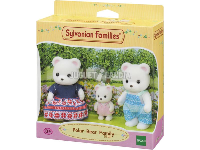 Sylvanian Families Familia Oso Polar Epoch Para Imaginar 5396