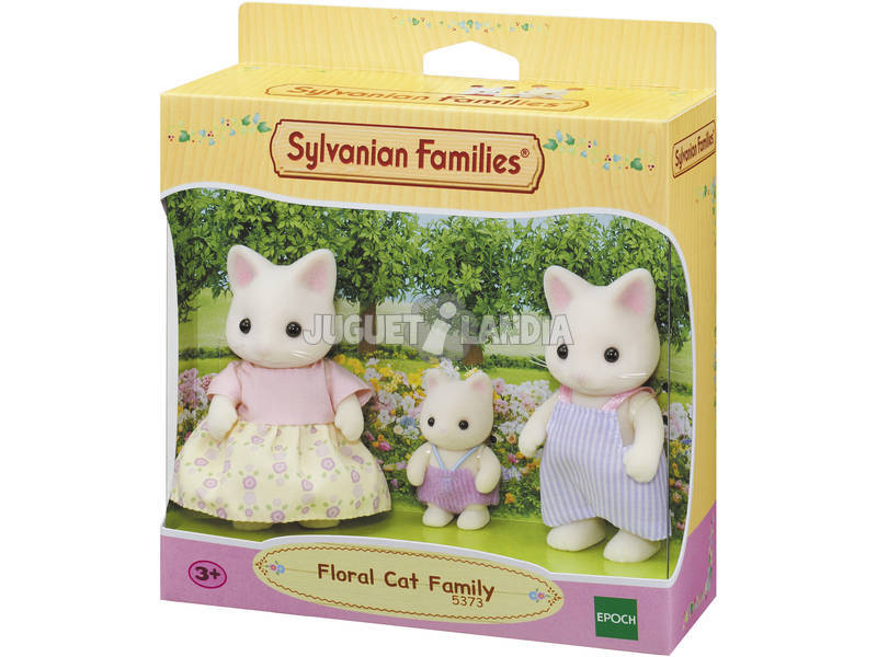 Sylvanian Families Familia Gato Floral Epoch Para Imaginar 5373