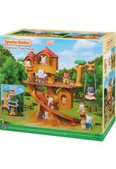Sylvanian Families A Casa da Árvore das Aventuras Epoch Para Imaginar 5450