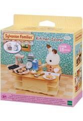 Sylvanian Families Kit Île de Cuisine Epoch Para Imaginar 5442