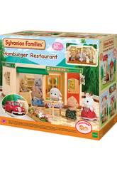 Sylvanian Families A loja de Hambúrgueres Epoch Para Imaginar 5271