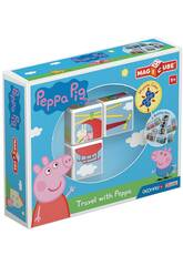 Geomag Magicube Peppa Pig Travel With Peppa Toy Partner 049