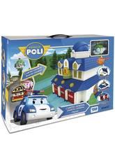 Robocar Poli Cuartel General con Figura Toy Partner 83156