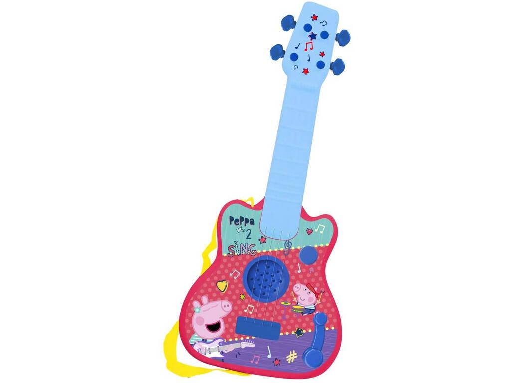 Peppa Pig Guitarra Infantil Reig 2346