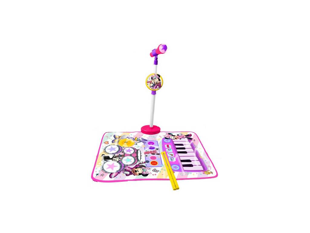 Minnie And You Alfombra, Batería, Piano y Micro con Soporte Reig 5541