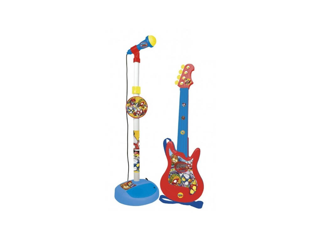 Superzings Micro y Guitarra Reig 2420