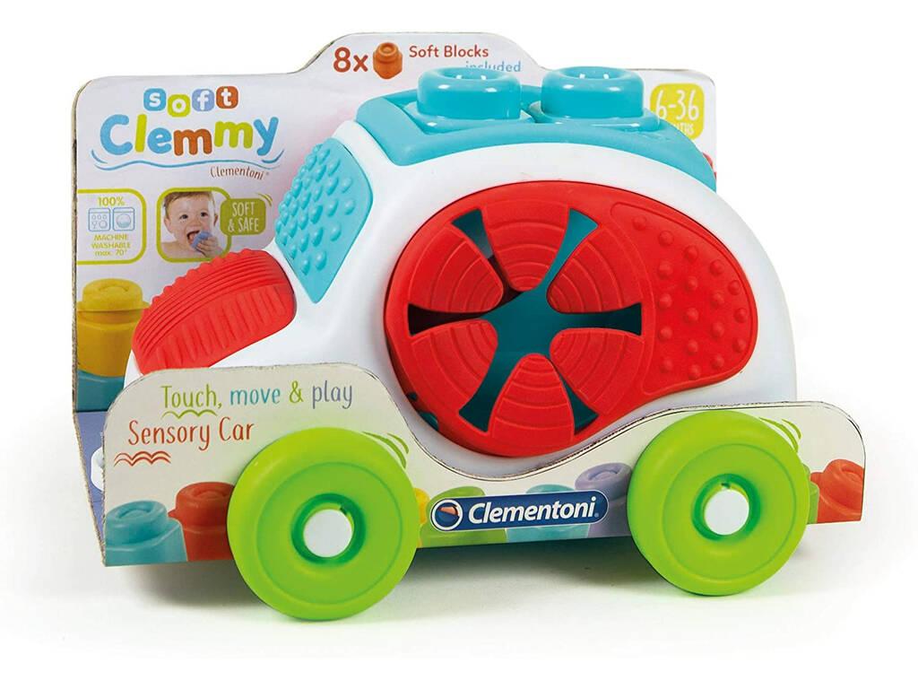 Clemmy Baby Vehículo con Texturas Clementoni 17315