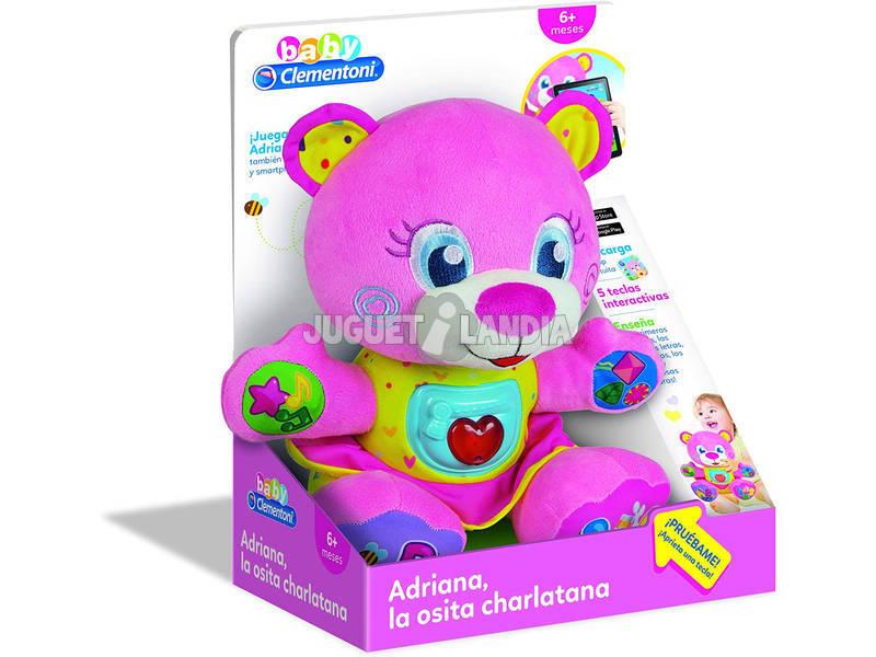 Adriana La Osita Charlatana Clementoni 55274