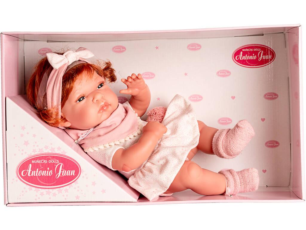 Muñeca Baby Toneta Baberito 33 cm. Antonio Juan 6032