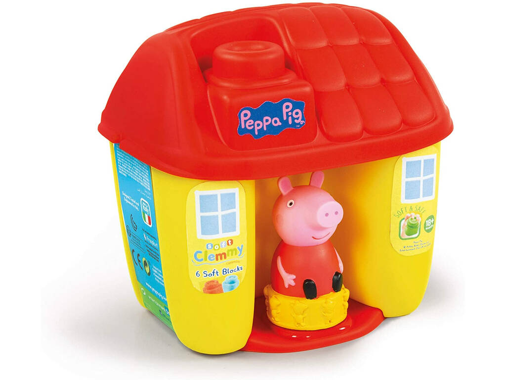 Peppa Pig Clemmy Baby Cubo Clementoni 17346