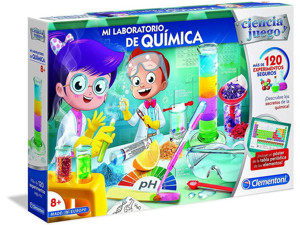 Laboratorio de Química Clementoni 55287