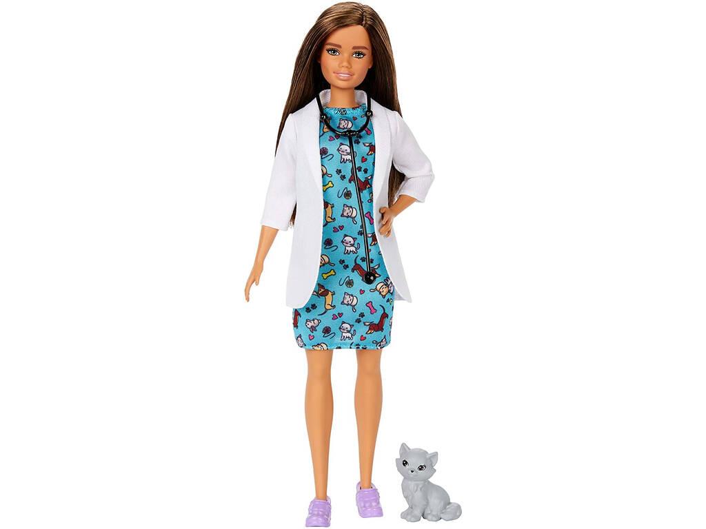 Barbie Quiero Ser Veterinaria Mattel GJL63