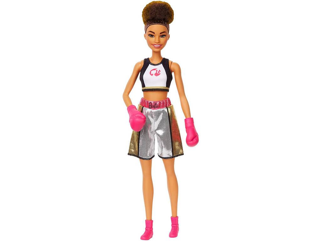 Barbie Quiero Ser Boxeadora Mattel GJL64