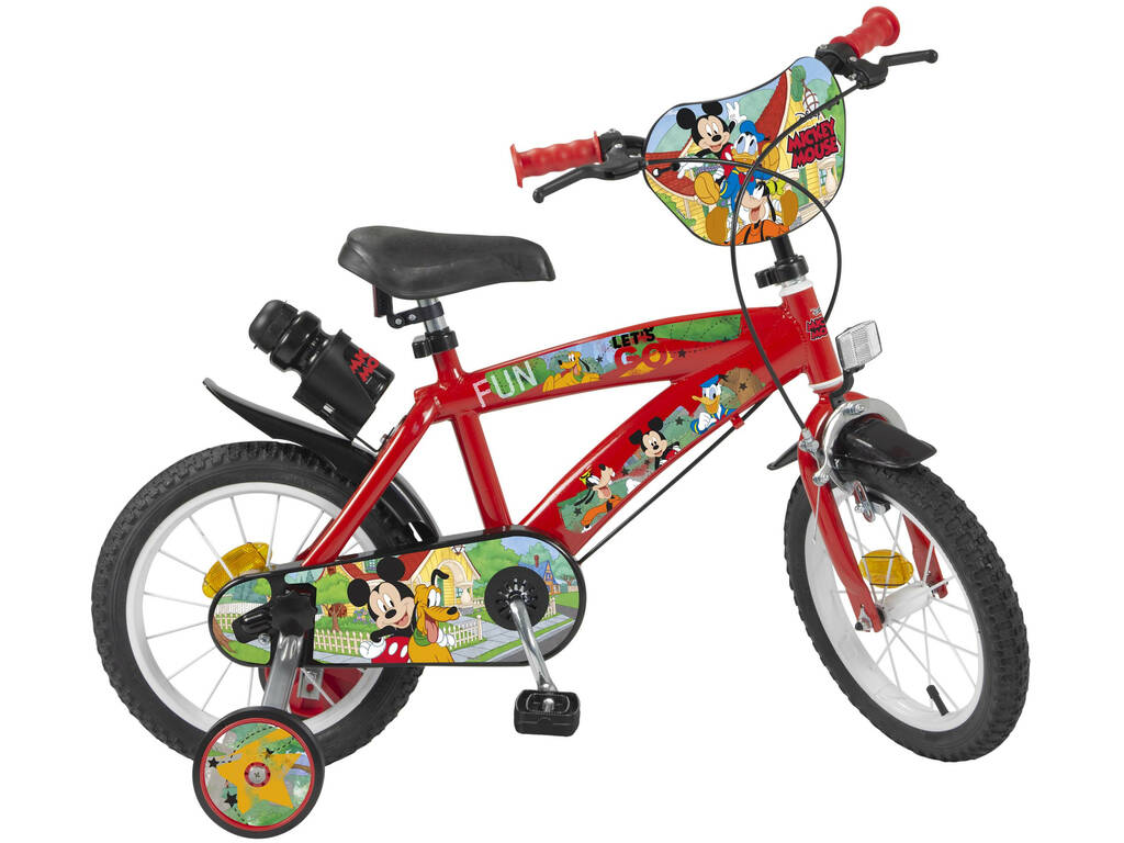 Vélo 14 Pouces Mickey Mouse Toimsa 619