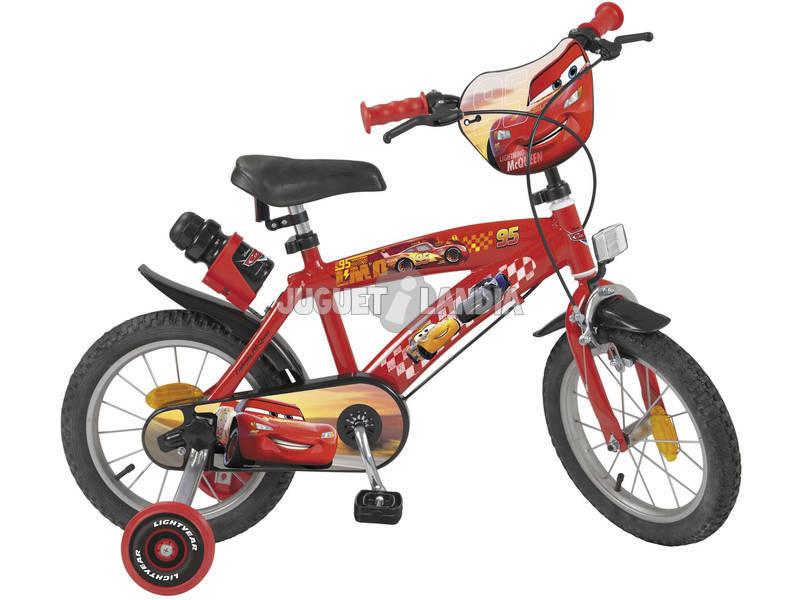 Bicicleta 14 Cars Toimsa 754