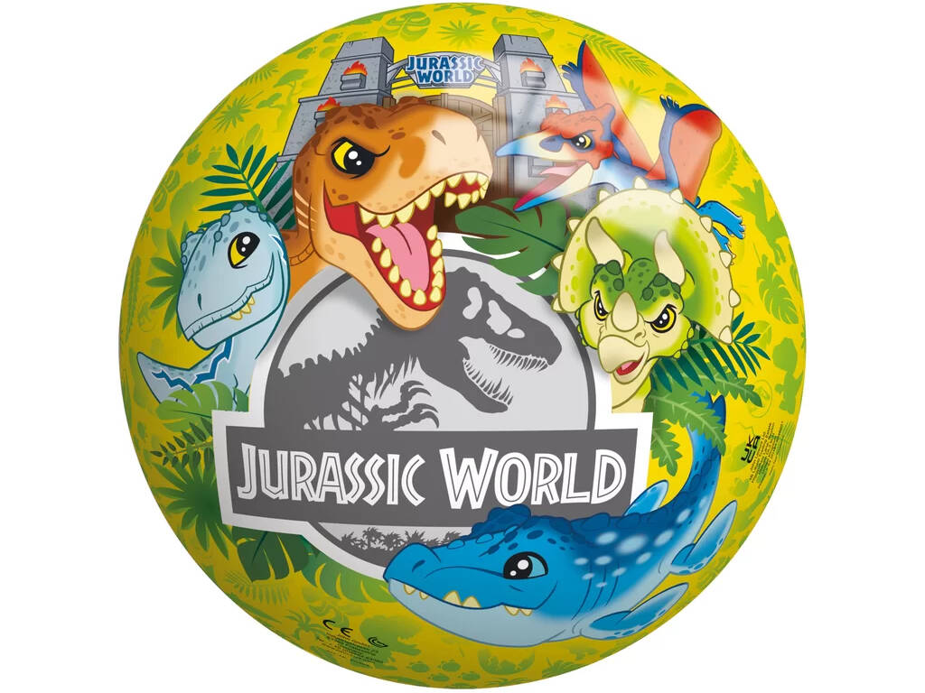 Jurassic World Balón 20 cm. Smoby 50903