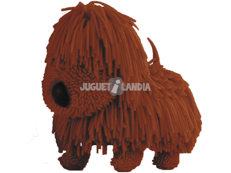 Jiggly Pup Perrito Marrón Famosa 700015770