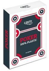 Cartes de Poker 100% Plastique Cayro 5505