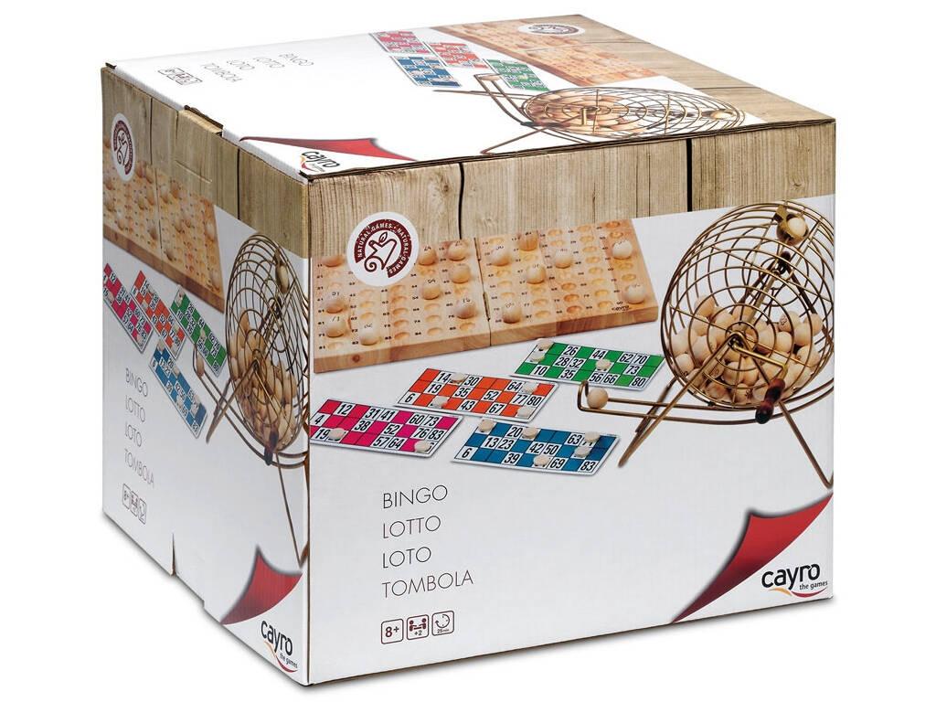 Bingo Deluxe de Madera Cayro 635