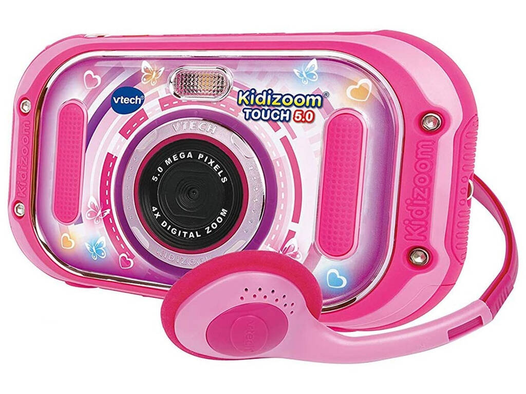 Kidizoom Touch 5.0 Rosa Vtech 163557