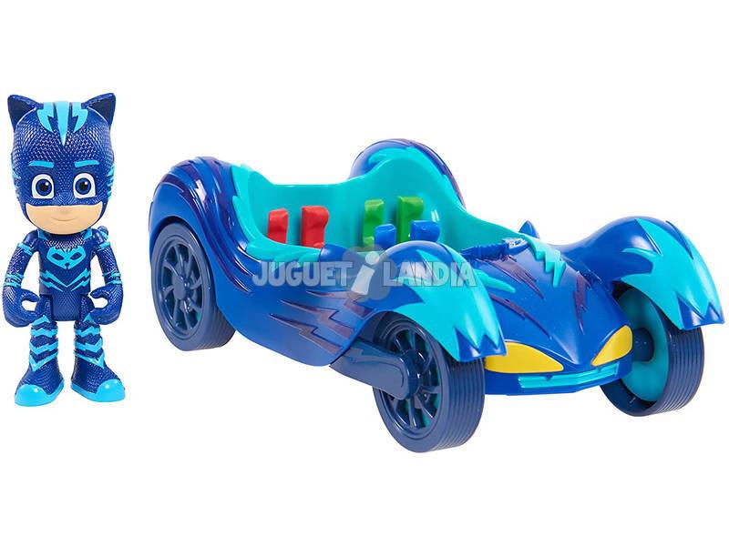 PJ Masks Vehículo Turbo Blast Gatuno Bandai 95296