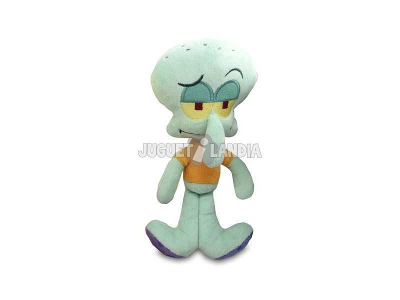 Bob Esponja Mini Peluche Calamardo Bandai 690505