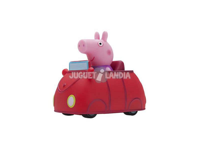 Peppa Pig Mini Buggy Coche Rojo Bandai 96571