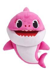 Baby Shark Marionete Cantora Mummy Shark Bandai SS01004