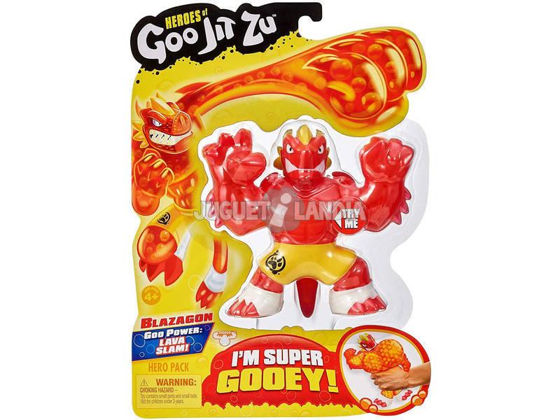 Heroes Of Goo Jit Zu Figura Blazagon Bandai 41020