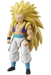 Dragon Ball Super Figurine Deluxe Super Saiyan 3 Gotenks Bandai 36189